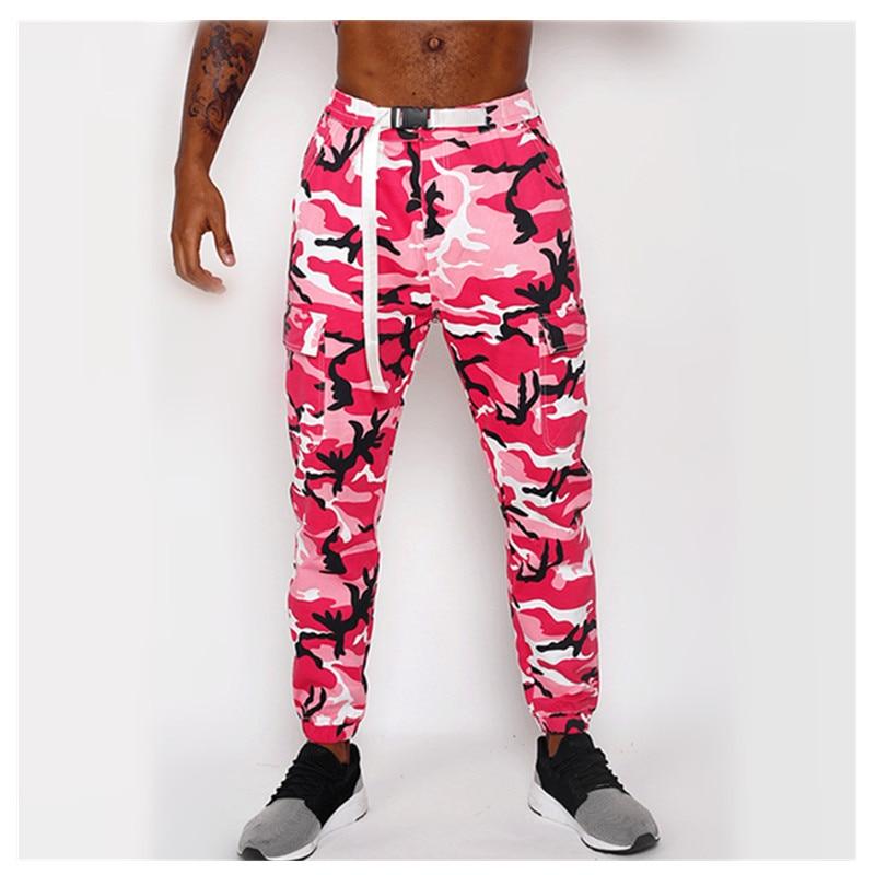 2019 Autumn Pencil Harem Pants Men Camouflage Military Loose Comfortable Fashion New Camouflage Training Pants Jogging Hip Hop P