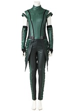 Guardians of the Galaxy 2 Mantis Cosplay Costume Adult Women Superhero Lorelei Green Movie Clothes Halloween Carnival Outfit