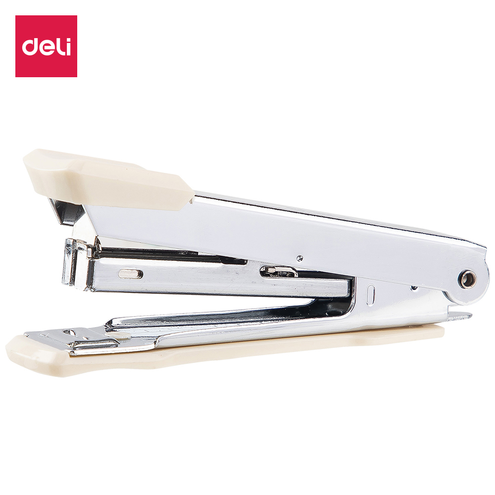 DELI 0224N Stapler NO.10 Metal Stapler Stationery Office Supply Staples Office Accessories