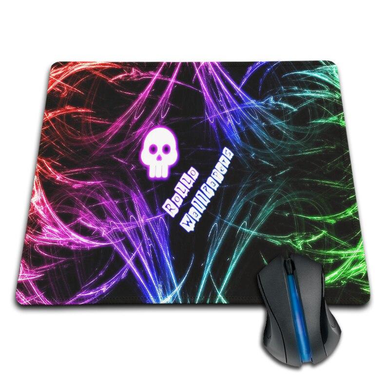 250x290x2mm Özelleştirilmiş Mouse Pad Soyut Yapıt Pençeleri Renkli Kafatasları Kırmızı Ejderha Moda Kauçuk Olmayan kayma Mouse Mat Pad