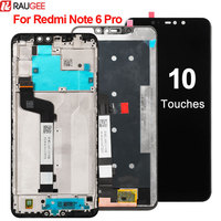 For Xiaomi Redmi Note 6 Pro LCD Display Touch Screen New Digitizer Glass Panel Replacement LCD For Redmi Note 6 Pro Display