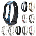 Xiaomi Mi Band2 Strap Wristband Camouflage Replacement Xiaomi Bracelet Belt Band Accessories band for Mi Miband 2 Strap Bracelet