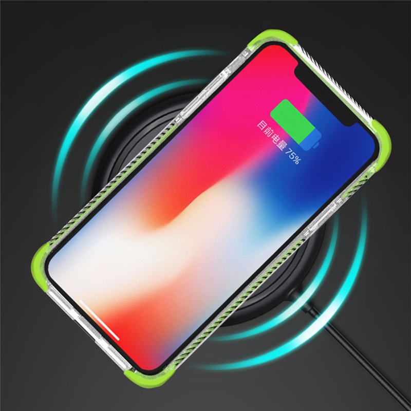 Electronics - Strong Protection Four Corner Anti Dropping Case Protective Cover Transparent Tpu Soft Shell FOR Iphone 11