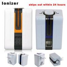 Ionizador purificador de aire para el hogar generador de iones negativos 9 millones de AC220V eliminar Formaldehído Humo pm2.5 Purificación de Polvo