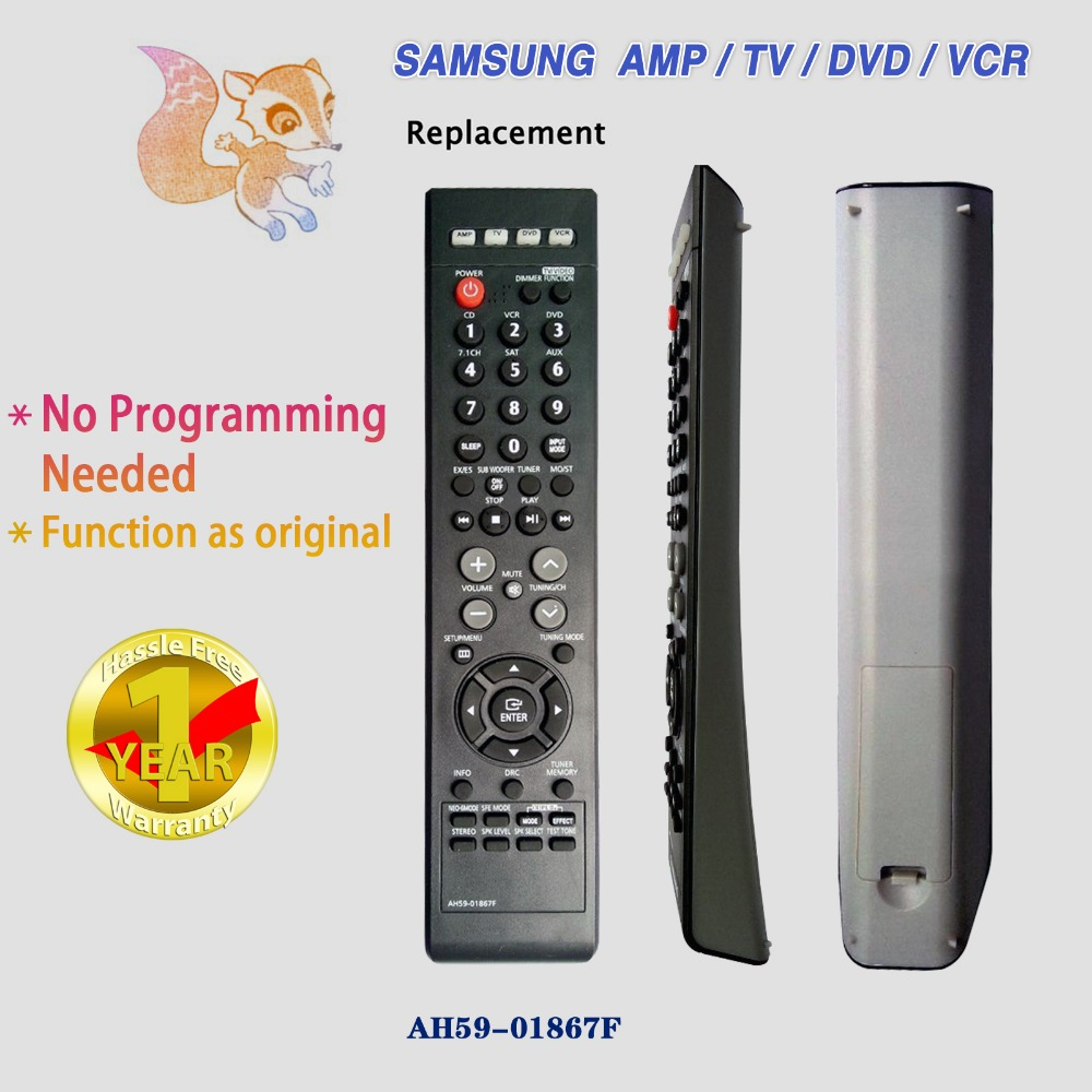 New Replacement Remote Control For SAMSUNG AH59-01867F Universal HOME THEATER/DVD YSP4000BL AVR720 HT-AS720 Free Shipping lacywear dg 258 ysp