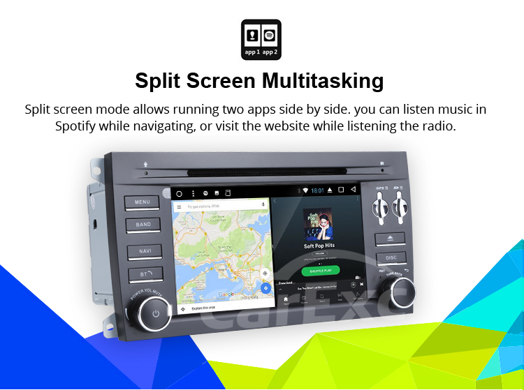 Best Android 9.0 Octa Core  Car DVD Player Stereo System For Porsche Cayenne With Canbus Wifi GPS Navigation Radio Carplay 20