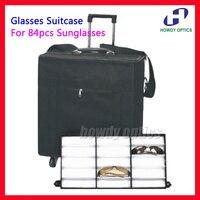Держать 84 шт. очки Оптические очки для чтения с экрана чехол образец коробка путешествия троллейбус случае