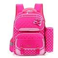 Moda estilo coreano alunos da escola sacos para meninas impermeável Nylon crianças escola mochilas crianças crianças mochila