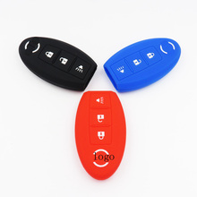 100% SILICONE KEY COVER FIT FOR Nissan Murano Rogue Versa Pathfinder Juke 370Z Key Cover KEY CASE FOR CAR INTERIOR ACCESSORIES
