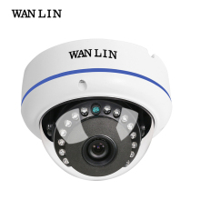 WAN LIN Metal Dome Vandalproof AHD Camera 1080P Full HD Outdoor Indoor 3.6MM Fixed Lens AHD Camera CCTV Surveillance Cam