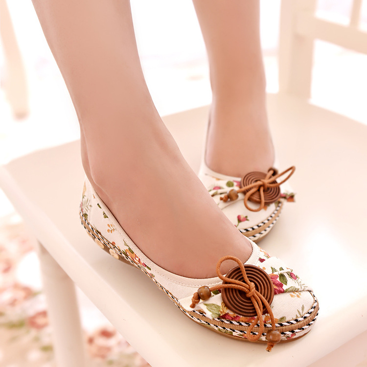 2018 Korean New Fashion Spring Women Flats Shoes Ladies Bow Square Toe Slip-On Flat Women's Shoes Plus Size 35-40 beyarne spring summer women moccasins slip on women flats vintage shoes large size womens shoes flat pointed toe ladies shoes
