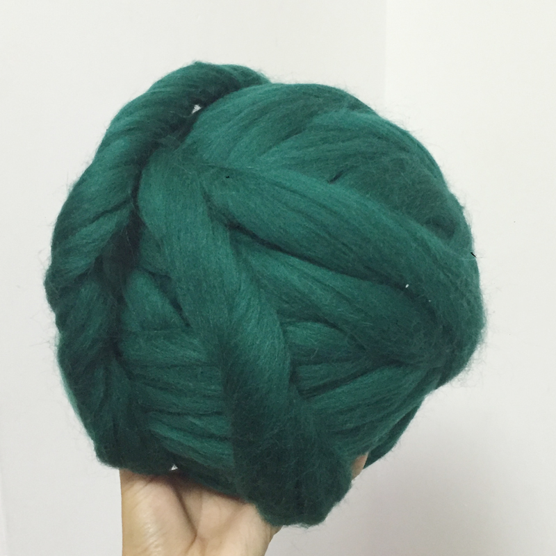 1000g Super Thick Chunky Yarns For Knitting Merino Wool