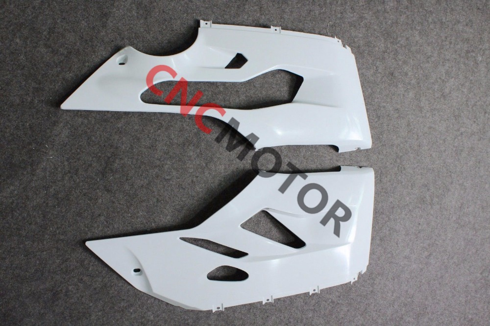 Unpainted Raw Right & Left Lower Side Panel Fairing Kit for DUCATI 1199 899 Panigale 2012-2014 12-13-14 зажимы apex hic mono kit raw