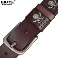 Factory Direct Wholsale Price Fashion Brand Name Men Belts Genuine Leather Business Formal Pure Smooth Buckle
