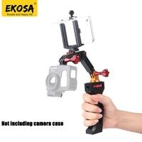 EKOSA Metal Holding Stabilizer Gimbal Smooth Q Selfie Stick Monopod For Gopro 5 4 3 Xiaomi
