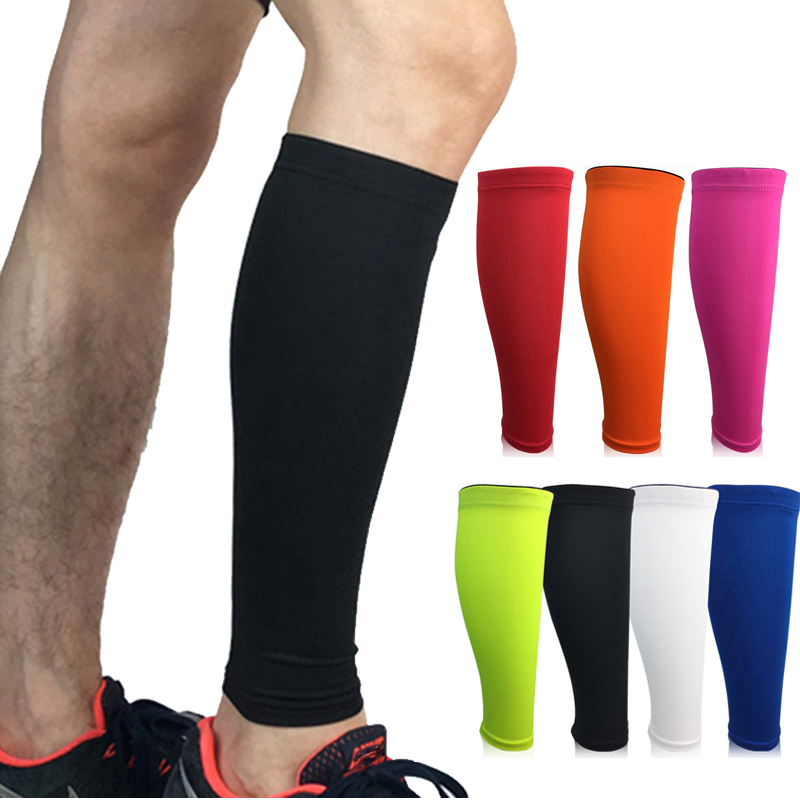 1PCS Men Women Cycling Leg Warmers Base Layer Compression Leg Sleeve Running Football Basketball Calf Support Shin Guard