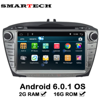 Quad Core 2G RAM 2Din Android 6 0 For Hyundai IX35 Tucson Car CD Video Radio