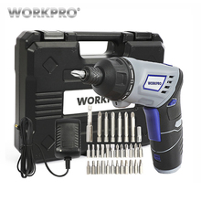 WORKPRO 3.6V Electric Screwdriver Cordless Rechargeable Lithium battery