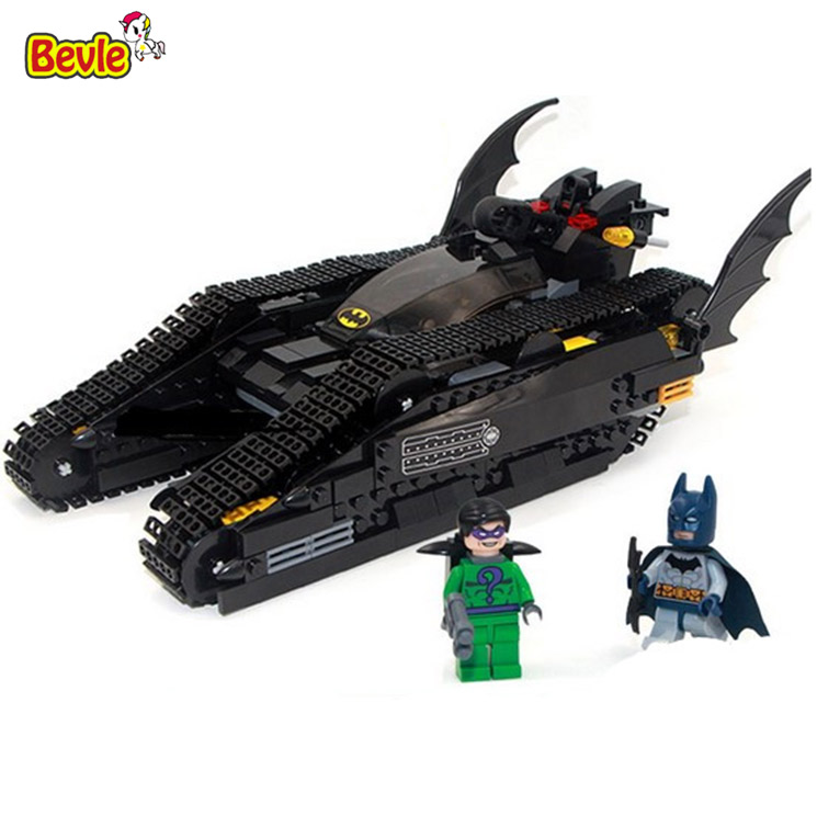 ФОТО Bevle Decool 7108 DC Super Hero Batman Attack Tank Figure Bricks Building Block Toys Kid Gift Compatible with Lepin