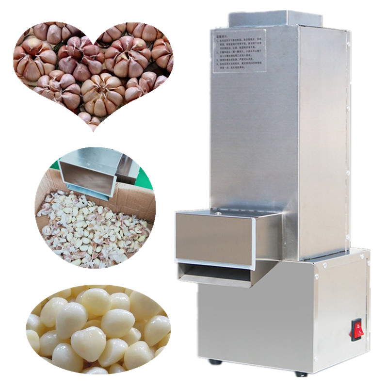 Stainless steel garlic peeling machine/ dry garlic peeler for small capacity/ convenient garlic peeling machines electric garlic peeler automatic garlic peeling machine stainless steel fast garlic peel commercial garlic peeler ysgp 25