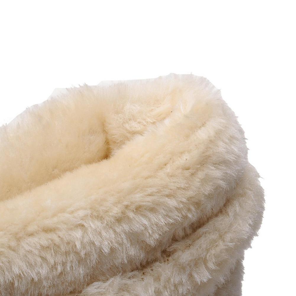 Papillon yellow Fur purple Noeud Arrivée 34 Compensées Fur 2018 Bottes De 43 jaune Fur Apricot apricot Fur Neige pink Cheville Taille Chaussures Ribetrini Grande rose pourpre Femme Add Glissement Nouveau D'hiver xqvppwCA