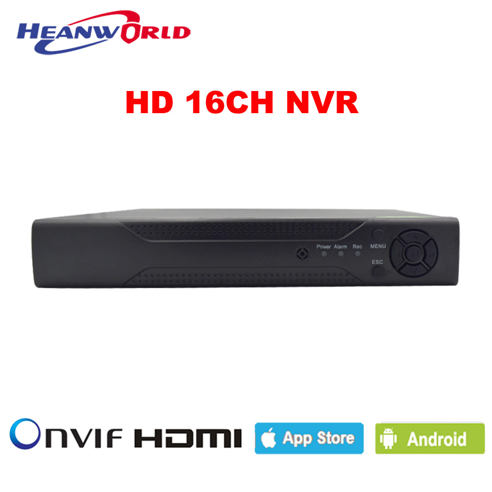 HD CCTV NVR 16CH ONVIF Security Surveillance HDMI 16 Channel NVR RS485 for IP Cameras Network Video Recorder P2P Cloud H.264 h 265 h 264 4ch 8ch 48v poe ip camera nvr security surveillance cctv system p2p onvif 4 5mp 4 4mp hd network video recorder
