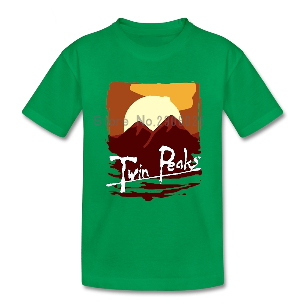 Twin Peaks Apocalypse Now Mashup Daughter T Shirt Cotton Short Sleeve Round Neck Teeshirt Guy Home Wear T-shirt For Boys Girls