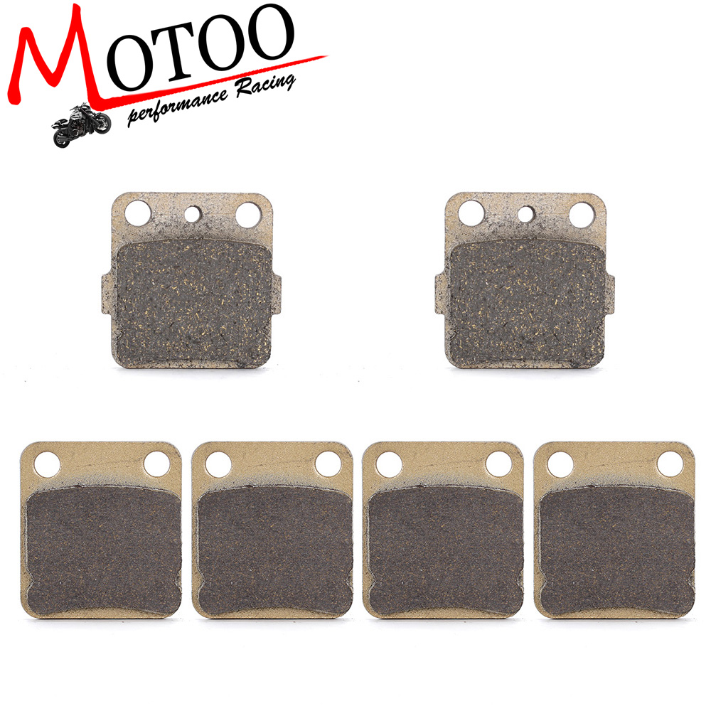 Motoo - Motorcycle Front and Rear Brake Pads for YAMAHA YFS200 YFS 200 R Blaster 2003 2004 2005 2006 for suzuki sv400 2003 2013 sv650 2003 2005 dl650 2004 2014 dl1000 2002 2010 motorcycle front and rear brake pads set