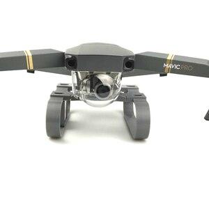 Image 4 - Mở rộng Cao Phận Hạ Cánh RF V16 GPS Tracer Người Giữ Định Vị Máy Ảnh gimbal bảo vệ Cho DJI MAVIC drone pro Phụ Kiện