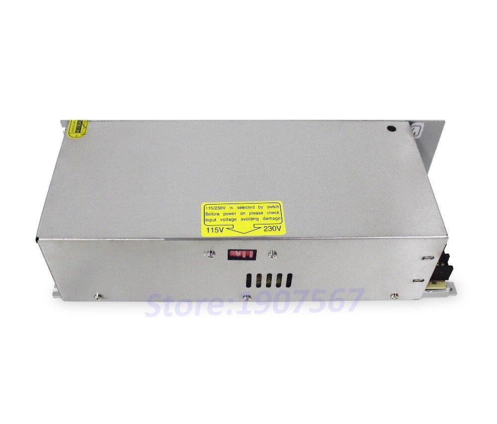 LICHUAN DC 48 V 10A 480 W alimentation à commutateur à sortie unique pour conducteur pas à pas en boucle fermée LCDA86H