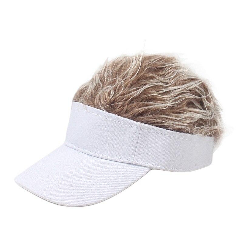 Wig Tennis Cap Parent-child Hat Street Trend Cap Outdoor Shade Wig baseball cap parent-child hat street trend cap #2f20 (2)