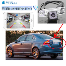YESSUN For Volvo S80 S80L 2012 2013 2014 back up Reverse Camera Auto Wireless Rear View Camera Rear View Camera  Night Vision 1pcs plug and play rear view backup camera 86790 04021 night vision for 2014 2015 toyota tacoma back up view camera