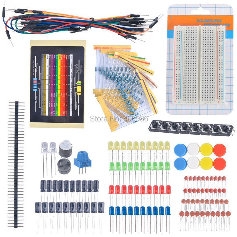 starter kit for arduino resistor electronic fans kits breadboardDiymall Diymallr Beginner Learning Kit For Arudino Kits Electronic #16