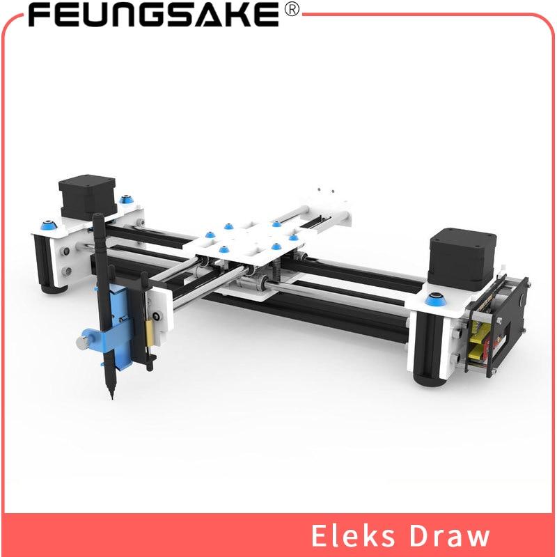Bureau bricolage traceur eleksdrew, laser machine 2500 mw laser graveur USB bricolage X Y traceur stylo dessin Robot dessin Machine 100-240 V