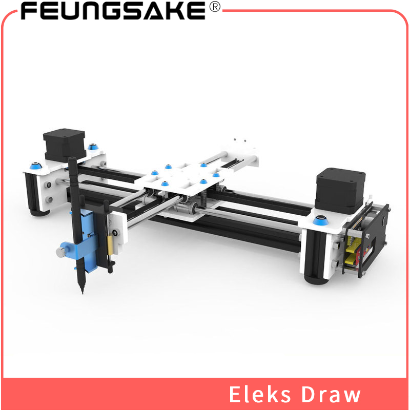 Desktop DIY plotter EleksDraw,laser machine 2500mw laser engraver USB DIY X Y Plotter Pen Drawing Robot Drawing Machine 100-240V цена