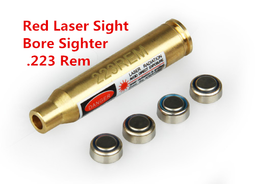 PPT New Arrival Red Laser Sight Bore Sight .223 Rem For Outdoor Use gs20-0030