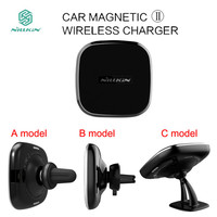 Nillkin Qi Car Magnetic II Wireless Charger For Samsung Galaxy S7 Edge S8 S9 Plus Note