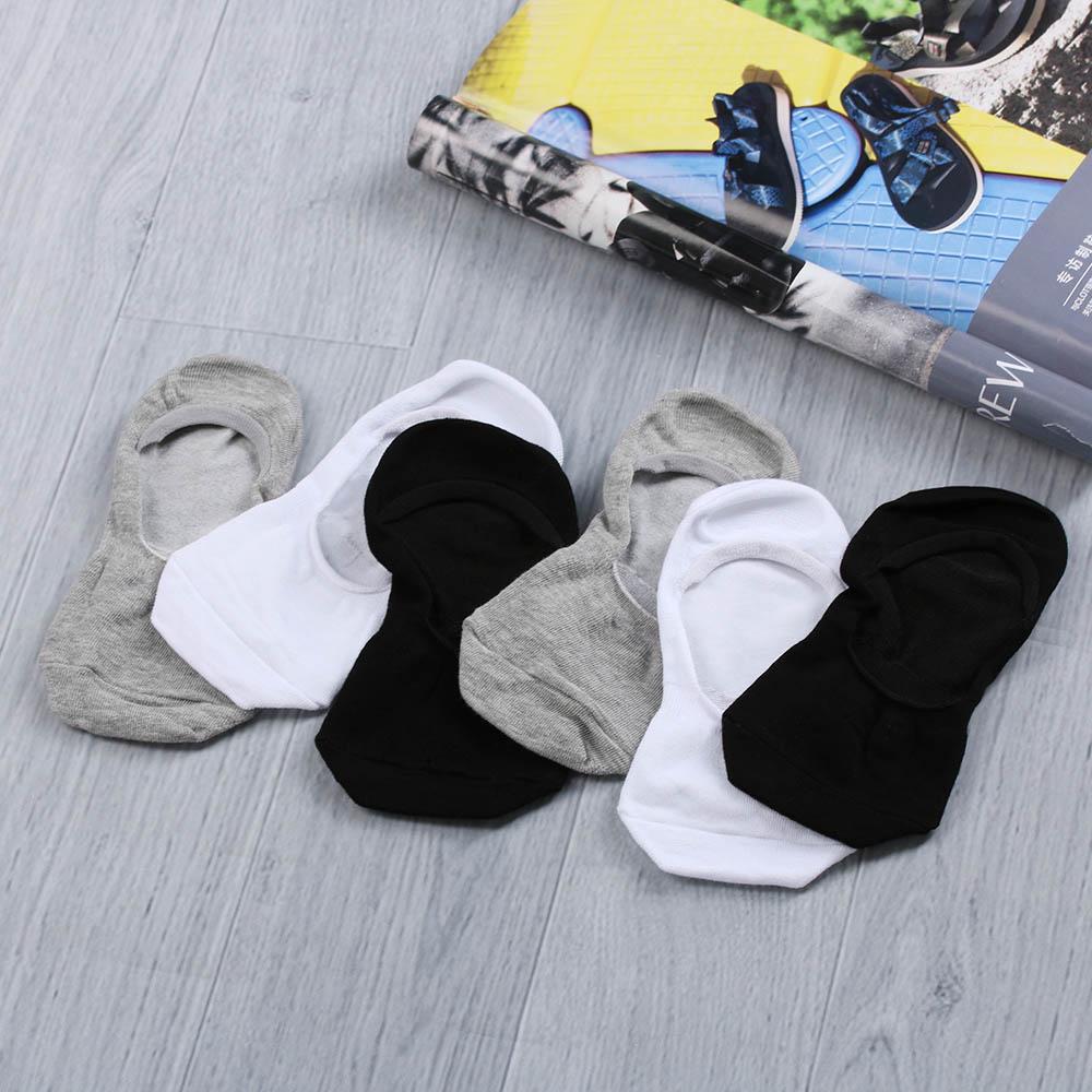 LNRRABC Spring Autumn Cotton Low Cut Non-Slip Mens Business Socks Solid Color Male Casual Men Socks Wholesale Chaussette Meias
