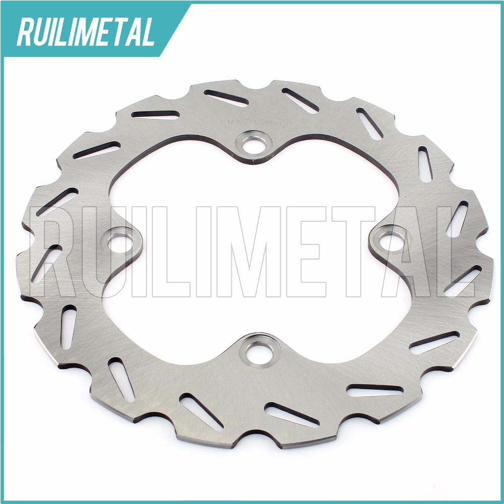 Rear Brake Disc Rotor for YAMAHA YFM 550 700 4WD Grizzly Auto FI 4x4 Power steering EPS Ducks Unlimited Special Edition ATV QUAD велосипед stels navigator 340 lady 2016