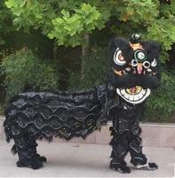 Китайский лев Танцевальный костюм для двух мужчин китайский Лионе Танцы r одежда праздничные костюмы Танцы r костюмы Белый Лев карнавальный