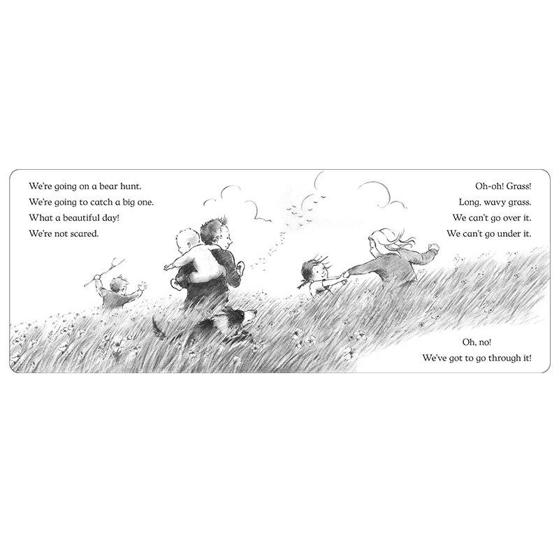 Vamos en un oso caza por Michael Rosen inglés historias Picture card ...