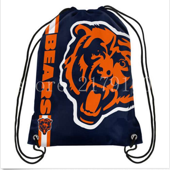 35-45-cm-digital-printing-knitted-polyester-Chicago-Bears-drawstring-backpack-with-rope-Metal-Grommets