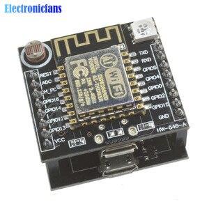 ESP8266 ESP-12F szeregowy WIFI dowcipna chmura rozwoju pokładzie USB na ttl CH340 Micro USB moduł dla Arduino Mini Nodemcu RGB WS2812