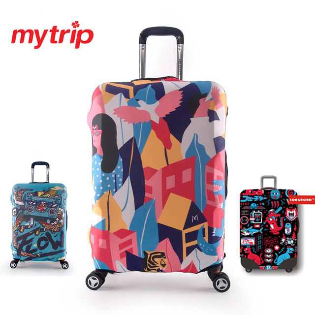 Thicken Travel Luggage Protective Suitcase Cover Luggage Cover Apply To 18~32 Inch Case Excellent Elastic