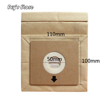 Universal Vacuum Cleaner Bags Disposable Paper Dust Bag Replacement Z1550 Z2332 For Dropshipping cheap as the link show Filters Vacuum Cleaner Parts