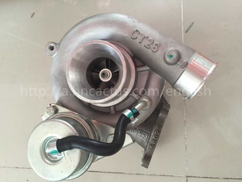 Auto Bagian Eelctric CT26 Turbo Charger 17201-17030 untuk t-oyota Land Cruiser 1HD-FT mesin