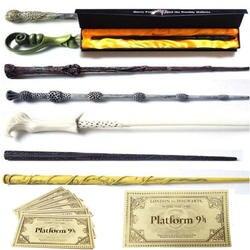 25 видов Харри Поттер волшебные палочки с коробкой и Хогвартс London Express Реплика билет на поезд/любой Другое палочки также можете попросить нас