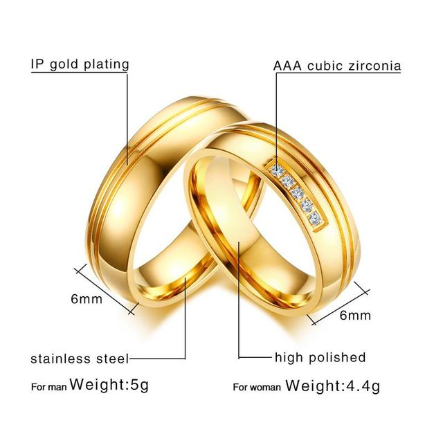 Stainless Steel Alliance Couple Anniversary Ring