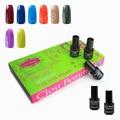 Hot Sale 8 Pieces 7ml Clou Beaute ( SONP018 Gel Polish+ BaseTop Coat) UV Gel Nail Art Gel Polish Manicure Set Nail Gel Soak Off