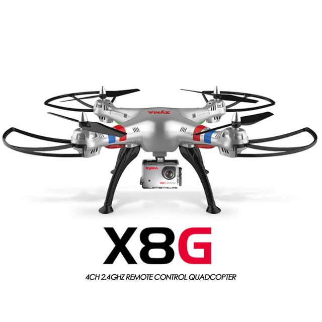 Atualizado de SYMA SYMA X8G X8C X8 Quadcopter Drones com câmera de 5MP HD Modo Headless RC Helicóptero Quadrocopter Zangão com câmera